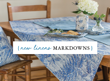 New Linens Markdowns