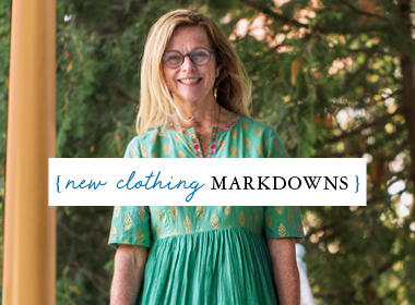 New Clothing Markdowns
